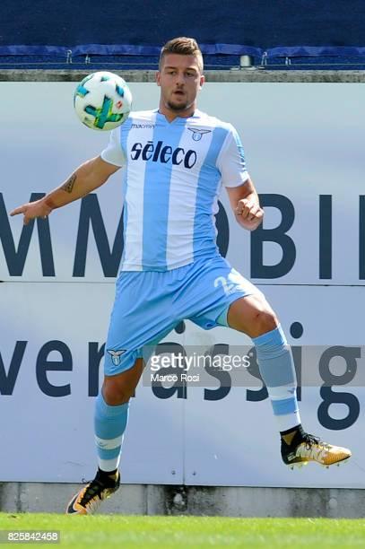 Sergej Milinkovic Savic of SS Lazio in action during the preseason friendly match between SS Lazio Vs Bayer Leverkusen at GoldbergStadion on July 30...
