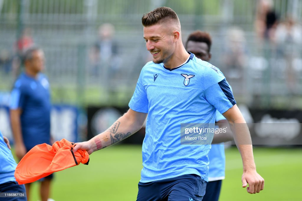 SS Lazio Pre-Season Training Camp : News Photo