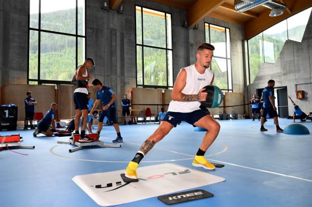 ITA: SS Lazio Pre-Season Training Camp