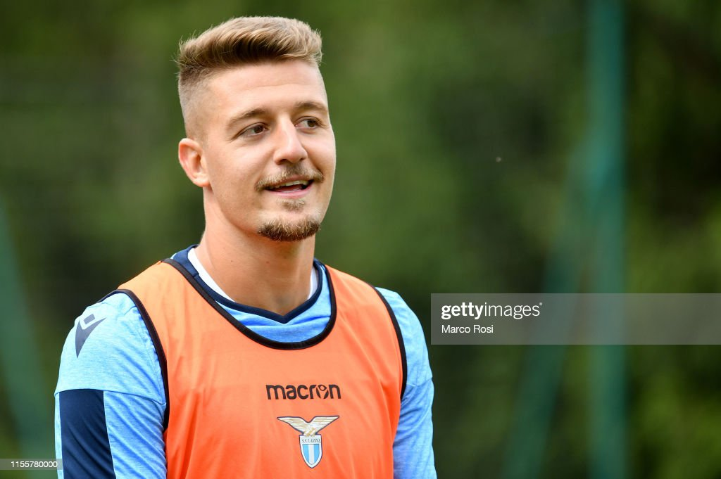 SS Lazio Pre-Season Training Camp : News Photo
