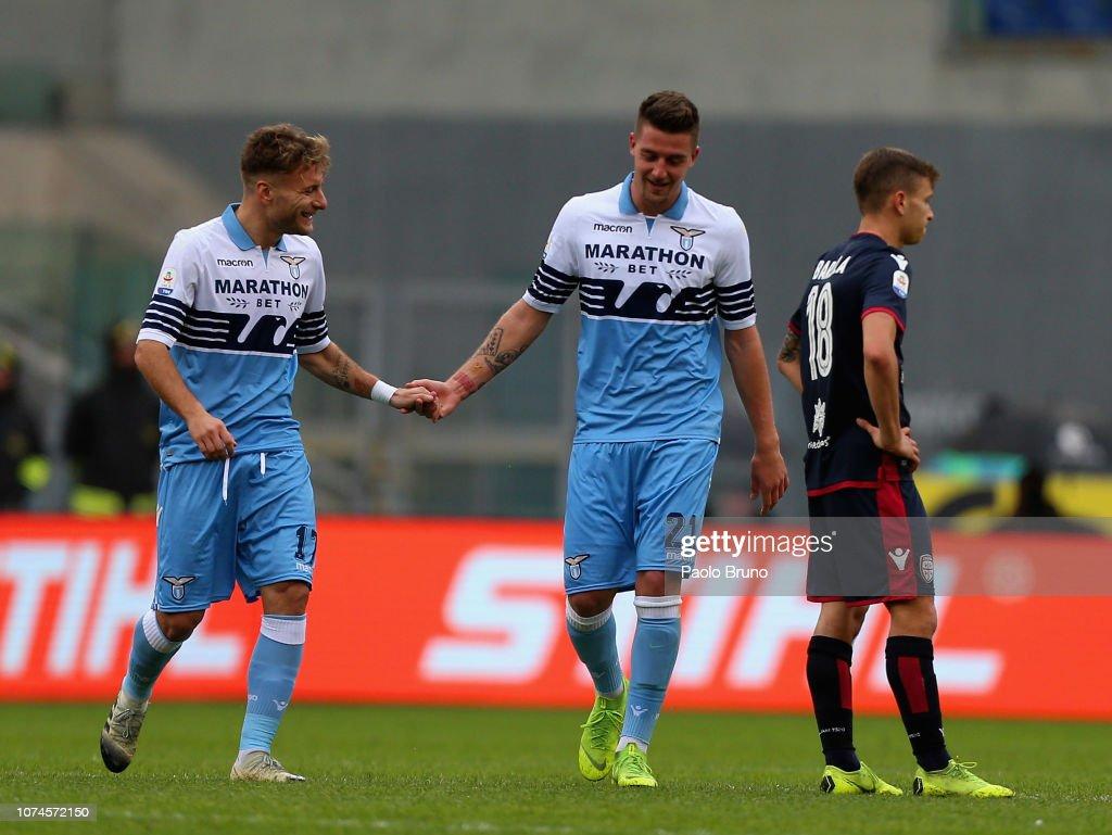 SS Lazio v Cagliari - Serie A : News Photo
