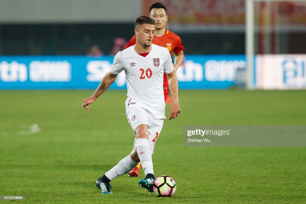 China v Serbia - International Friendly Football Match