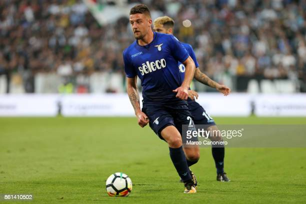 Sergej MilinkovicSavic of SS Lazio in action during the Serie A football match between Juventus FC and SS Lazio SS Lazio wins 21 over Juventus Fc
