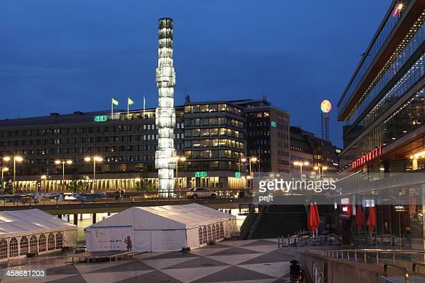 sergels torg, stockholm - pejft stock pictures, royalty-free photos & images