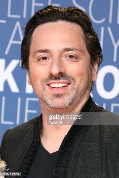 Sergey Brin attends the 7th Annual Breakthrough Prize Ceremony at NASA Ames Research Center on November 4, 2018 in Mountain View, California.