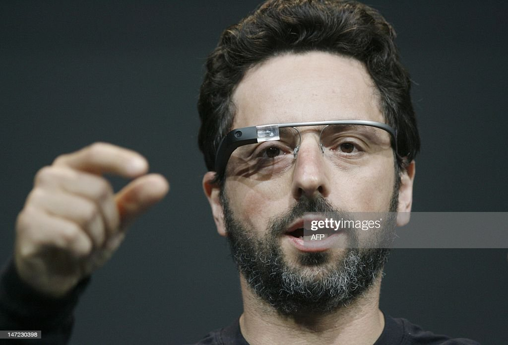 US-IT-INTERNET-GOOGLE-GLASS : News Photo