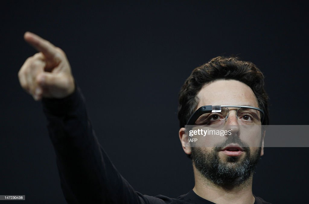 Sergey Brin, co-founder of Google appear : News Photo