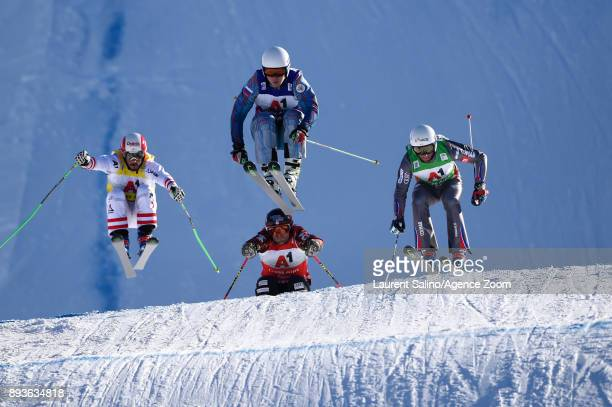 Sergey Ridzik of Russia takes 1st place Terence Tchiknavorian of France takes 2nd place Adam Kappacher of Austria competes Brady Leman of Canada...