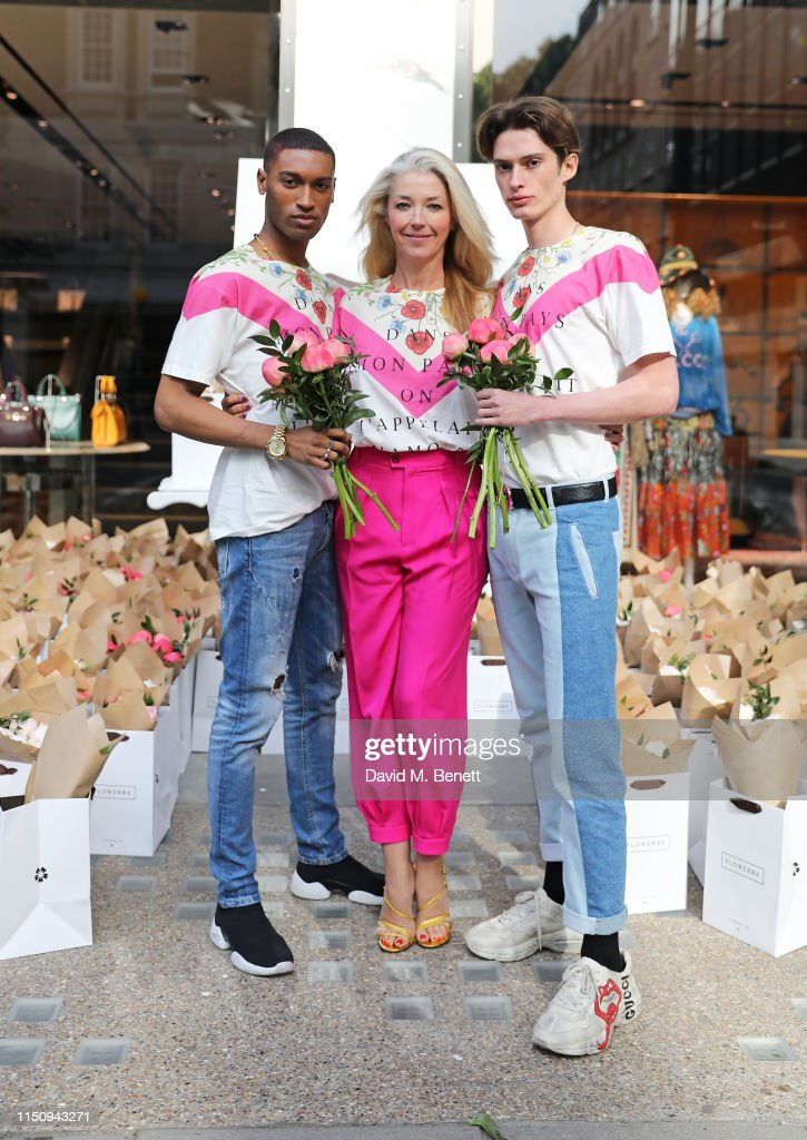 GBR: Lady Garden Breakfast at Gucci Sloane Street Store