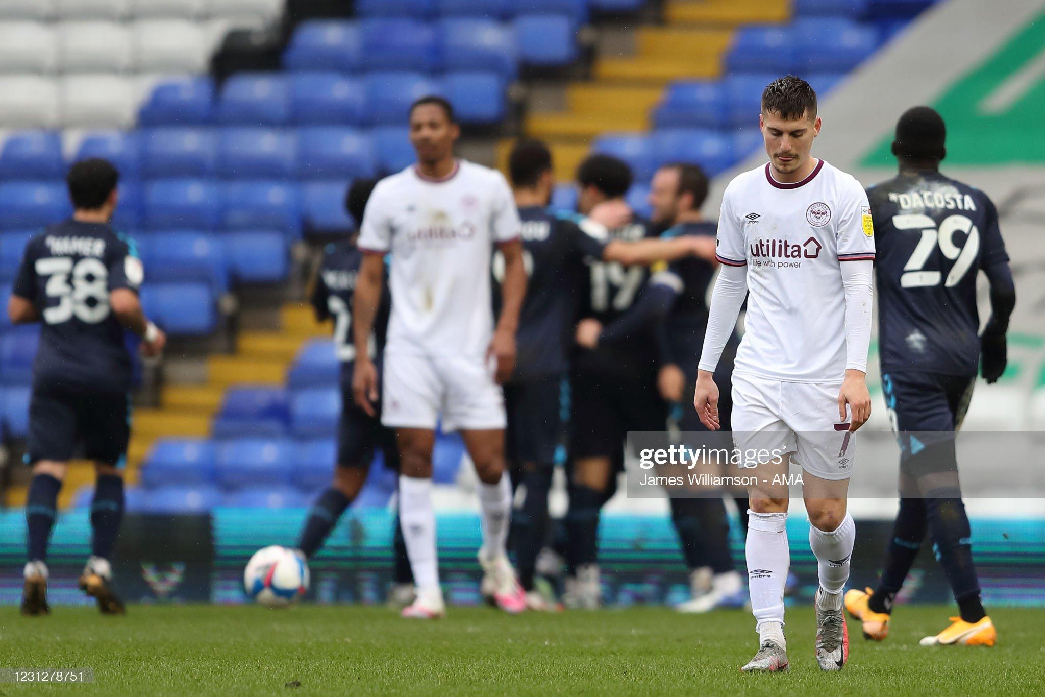 Stuttering Brentford suffer third successive defeat