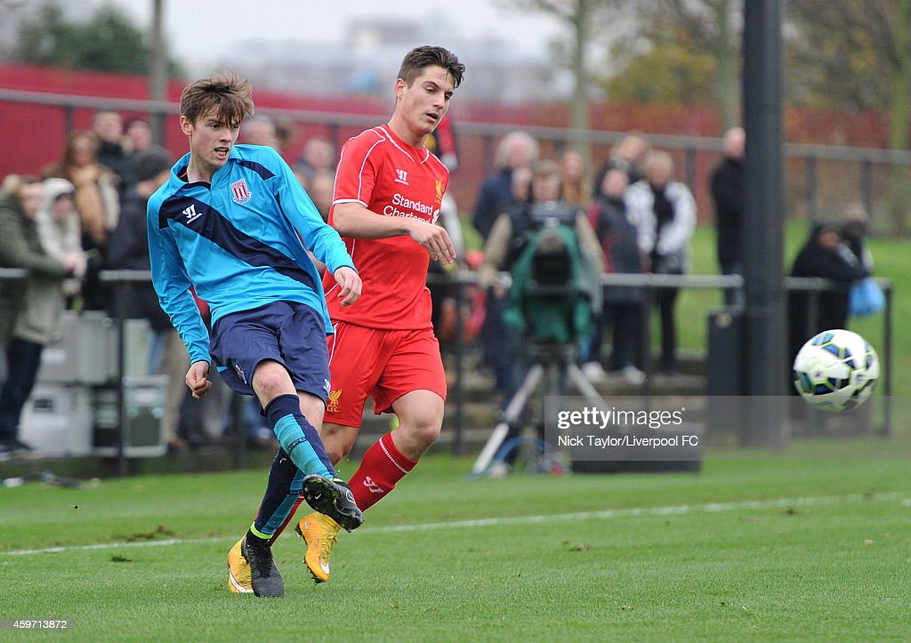 Liverpool v Stoke City: Barclays U18 League