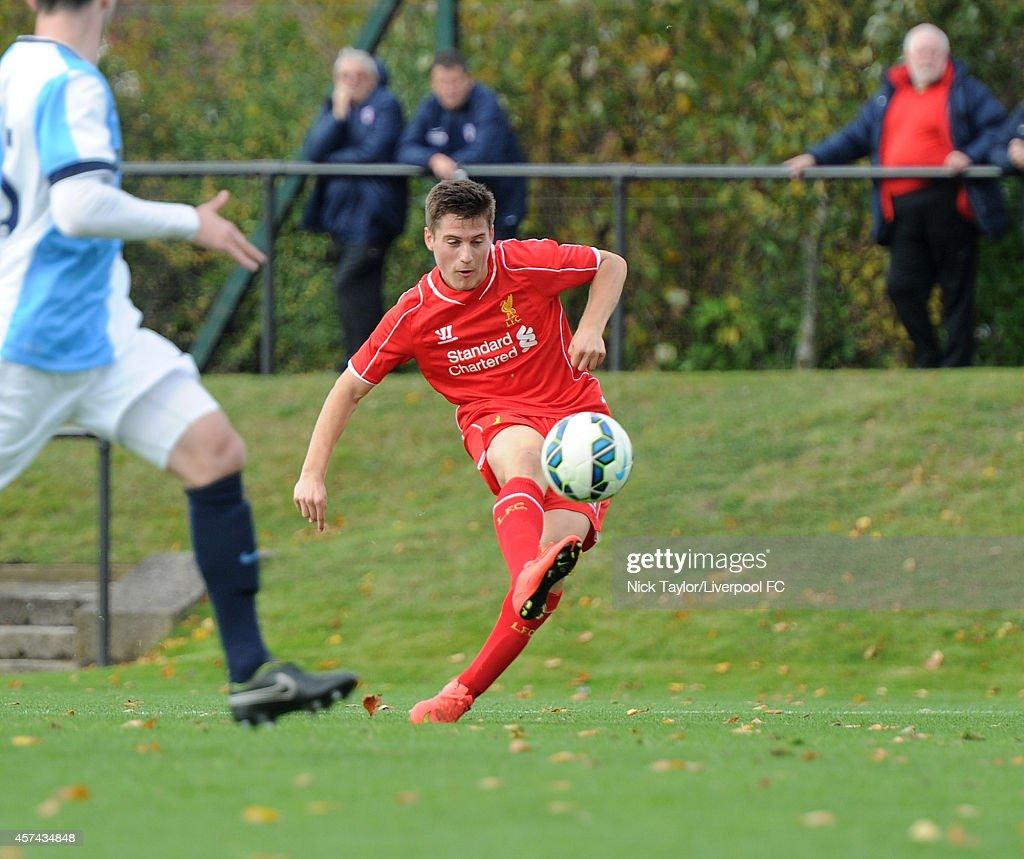 Liverpool v Blackburn Rovers - Barclays U18 League