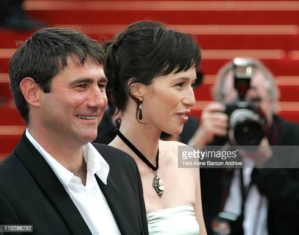 Sergi Lopez and Ariadna Gil during 2006 Cannes Film Festival El Laberinto del Fauno Premiere at Palais des Festival in Cannes France