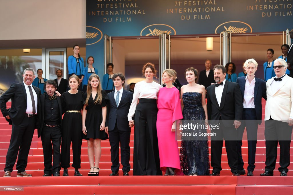 """""""Happy As Lazzaro """" Red Carpet Arrivals - The 71st Annual Cannes Film Festival"""