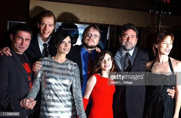 Sergi Lopez Doug Jones Maribel Verdu Guillermo Del Toro Ivana Baquero Guillermo Navarro and Ariadna Gil