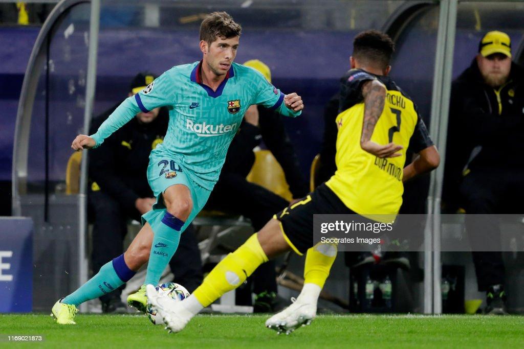 Borussia Dortmund v FC Barcelona - UEFA Champions League : News Photo