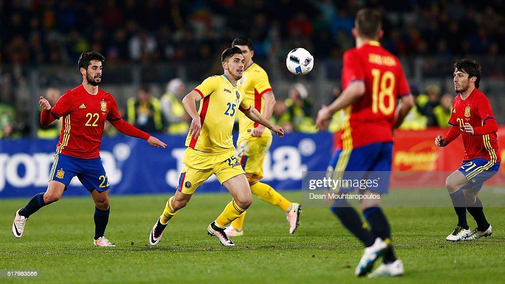 Romania v Spain - International Friendly : News Photo