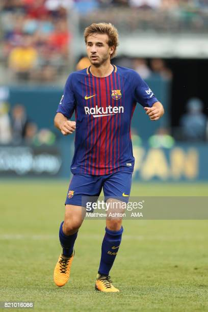Sergi Samper of FC Barcelona during the International Champions Cup 2017 match between Juventus and FC Barcelona at MetLife Stadium on July 22 2017...
