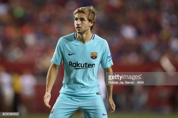 Sergi Samper of FC Barcelona during the International Champions Cup 2017 match between FC Barcelona and Manchester United at FedExField on July 26...