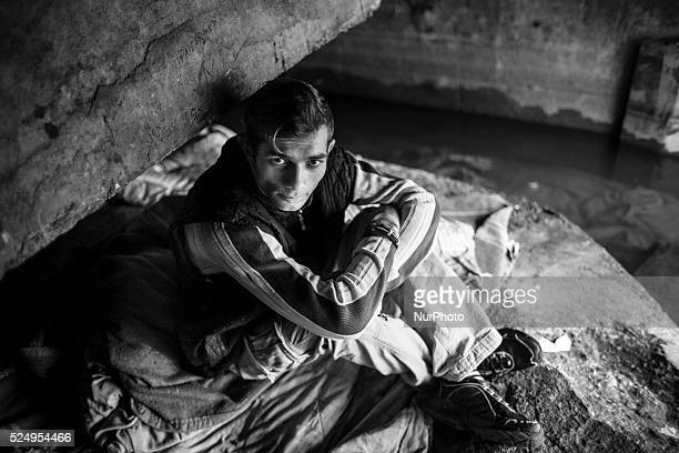 Sergiiu Stelian Bogdan a 24 yearold homeless youth lives under a bridge He is finishing his degree at a technical high school and is trying to get...