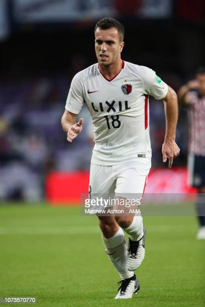 Serginho of Kashima Antlers during the FIFA Club World Cup UAE 2018 match between Kashima Antlers and CD Guadalajara on December 15, 2018 in Al Ain,...