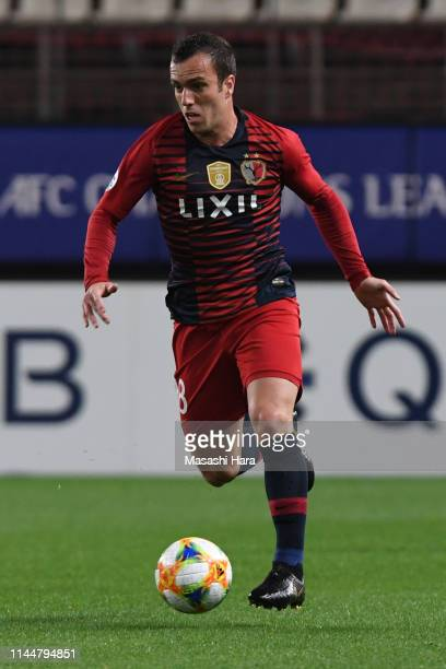Serginho of Kashima Antlers in action during the AFC Champions League Group E match between Kashima Antlers and Gyeongnam at Kashima Soccer Stadium...