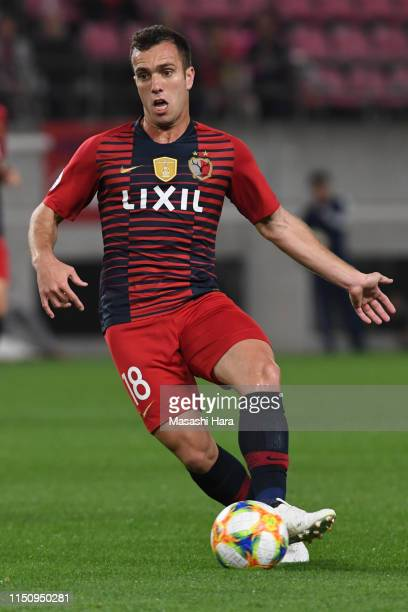 Serginho of Kashima Antlers in action during the AFC Champions League Group E match between Kashima Antlers and Shandong Luneng at Kashima Soccer...