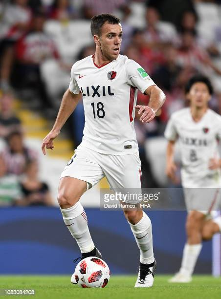Serginho of Kashima Antlers runs with the ball during the FIFA Club World Cup UAE 2018 second round match between Kashima Antlers and CD Guadalajara...