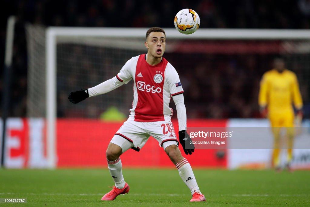 Ajax v Getafe - UEFA Europa League : News Photo