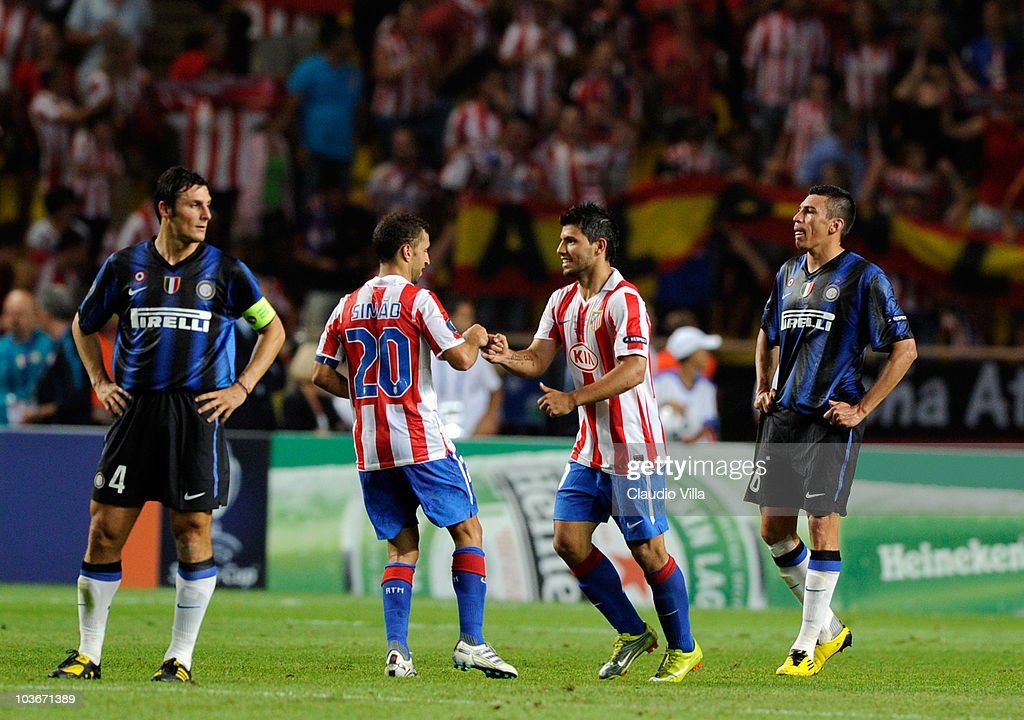 Inter Milan v Atletico Madrid - UEFA Super Cup