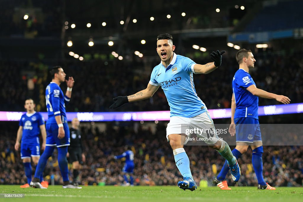 Manchester City v Everton - Capital One Cup Semi Final: Second Leg : News Photo