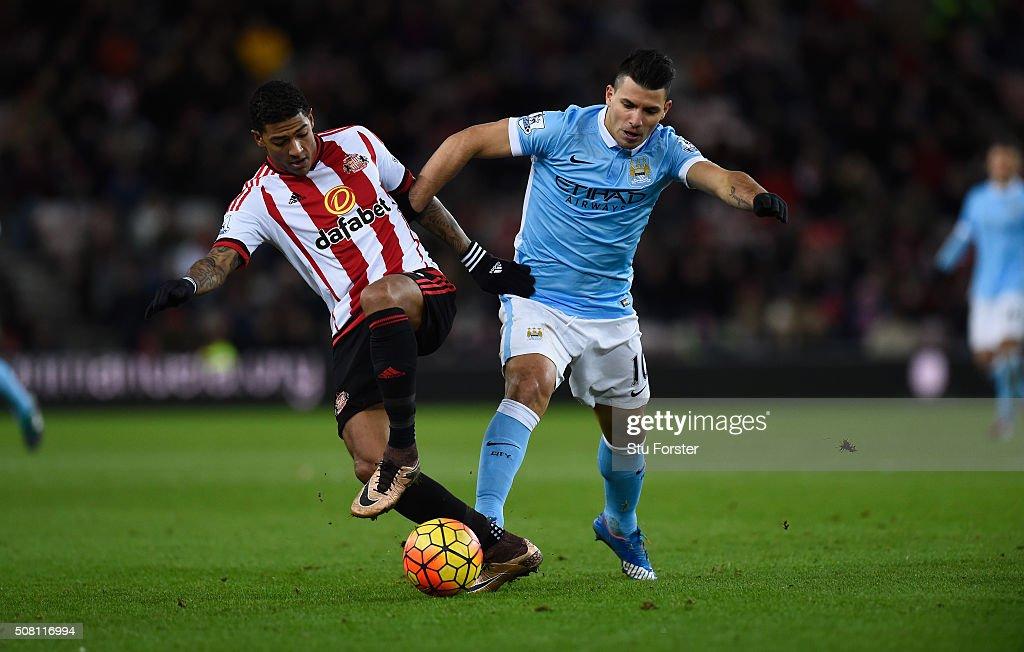 Sunderland v Manchester City - Premier League : News Photo