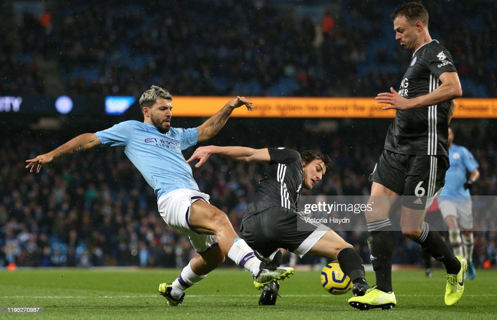 Manchester City v Leicester City FC - Premier League : News Photo
