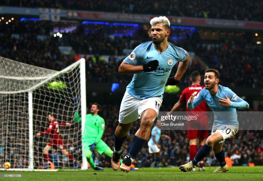 Manchester City v Liverpool FC - Premier League : News Photo
