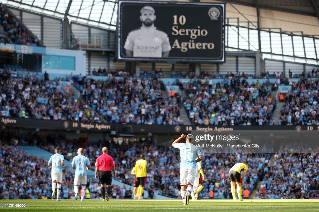 Manchester City v Watford FC - Premier League : ニュース写真