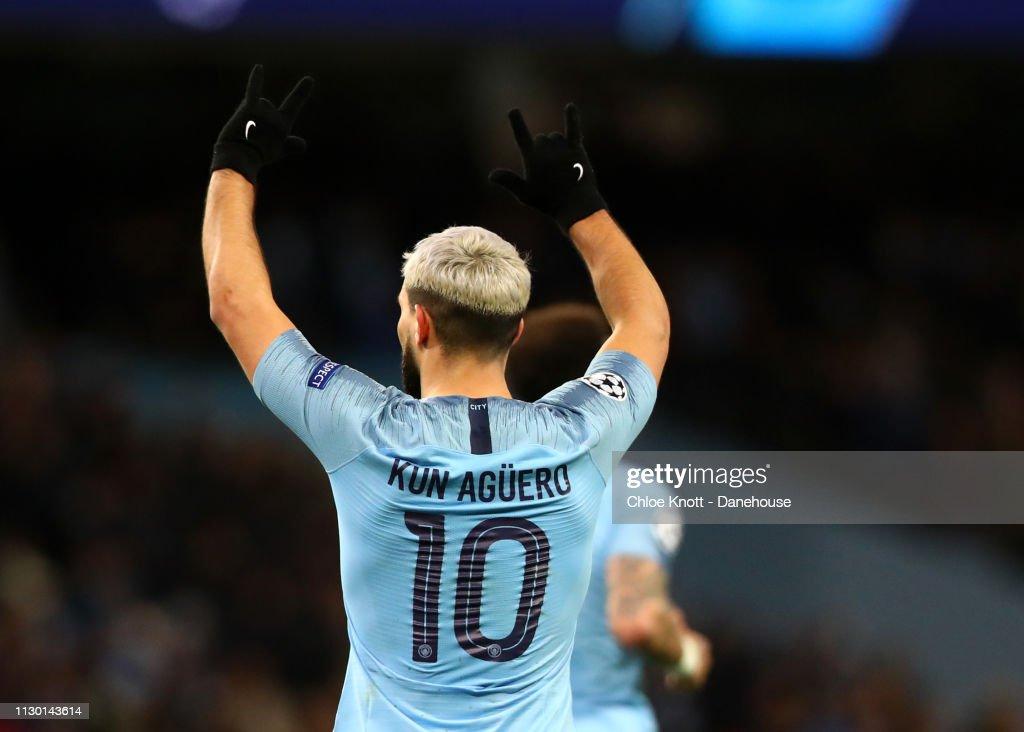 Manchester City v FC Schalke 04 - UEFA Champions League Round of 16 Second Leg : News Photo