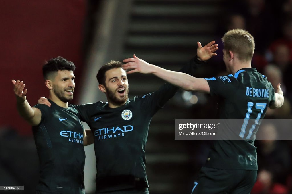 Bristol City v Manchester City - Carabao Cup Semi-Final: Second Leg