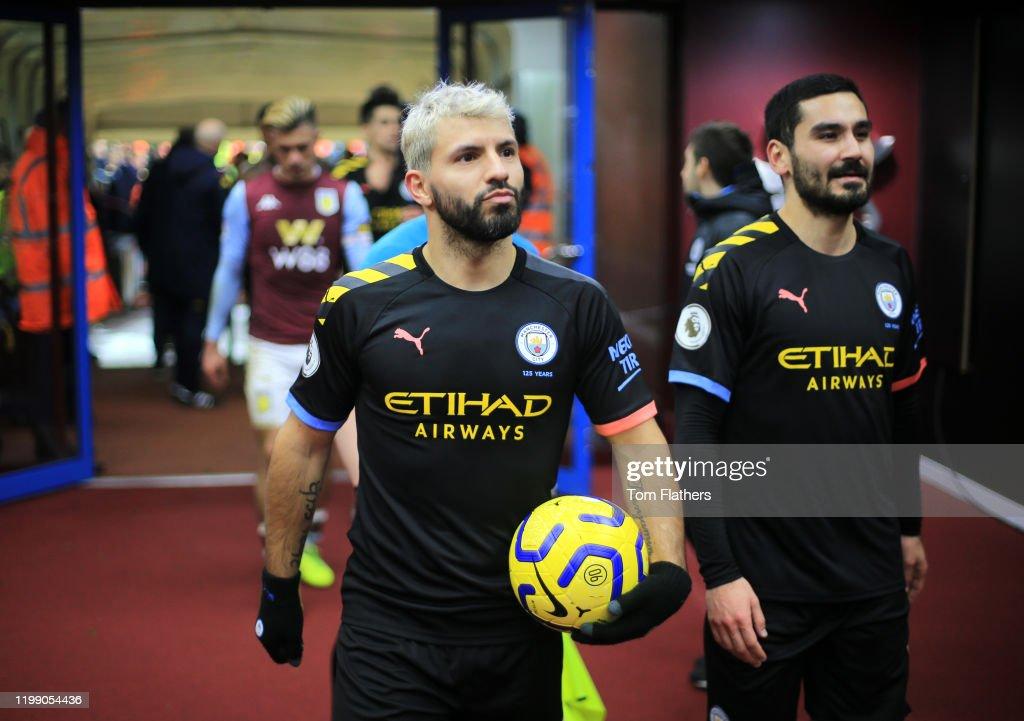 Aston Villa v Manchester City - Premier League : Photo d'actualité
