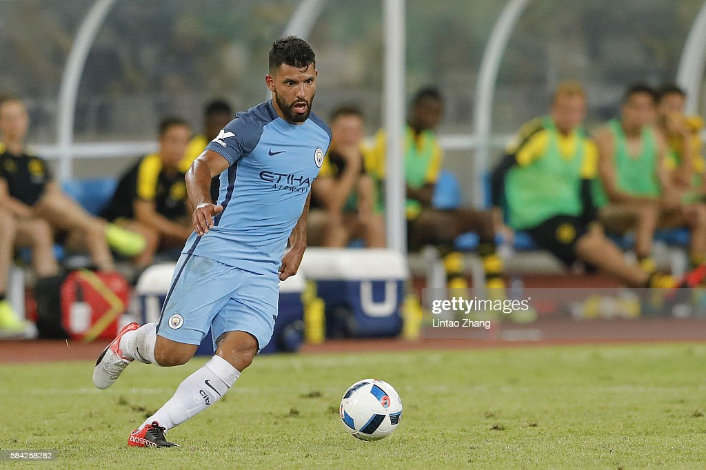 Borussia Dortmund v Manchester City - 2016 International Championship Cup China : News Photo