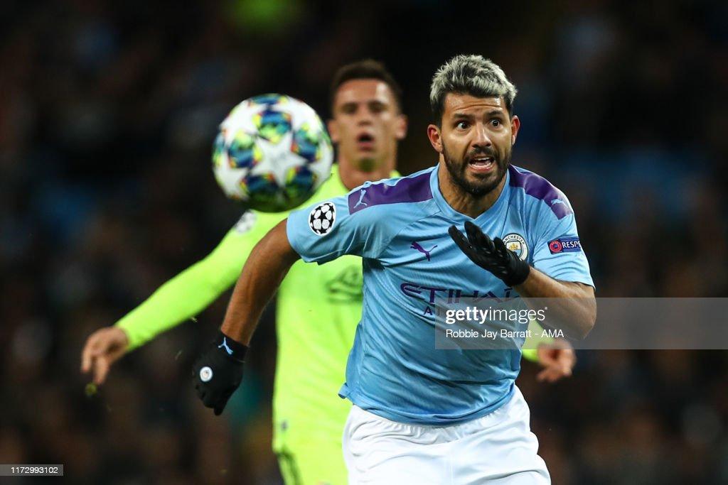 Manchester City v Dinamo Zagreb: Group C - UEFA Champions League : Foto jornalística