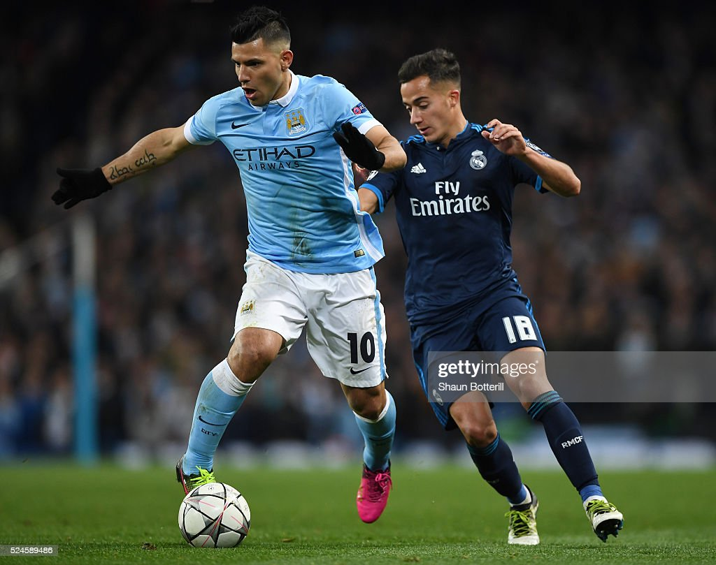 Manchester City FC v Real Madrid - UEFA Champions League Semi Final: First Leg : News Photo