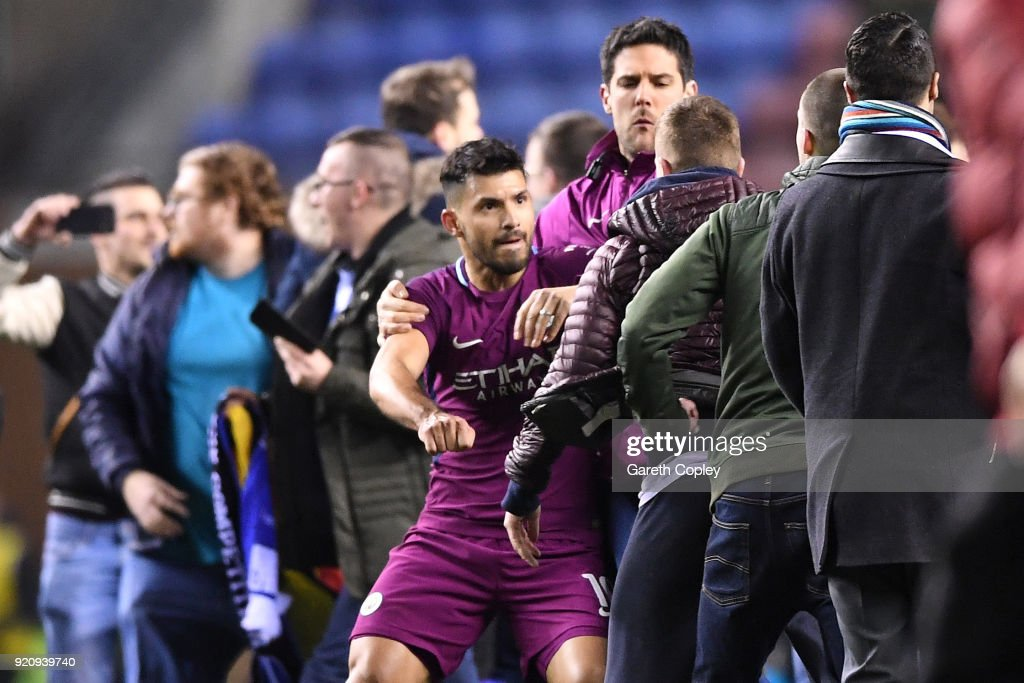 Wigan Athletic v Manchester City - The Emirates FA Cup Fifth Round