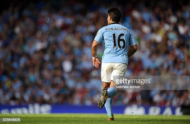 Sergio Aguero of Manchester City