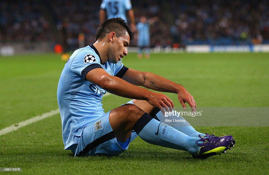 Manchester City FC v AS Roma - UEFA Champions League : News Photo