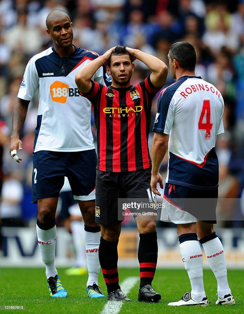 Bolton Wanderers v Manchester City - Premier League
