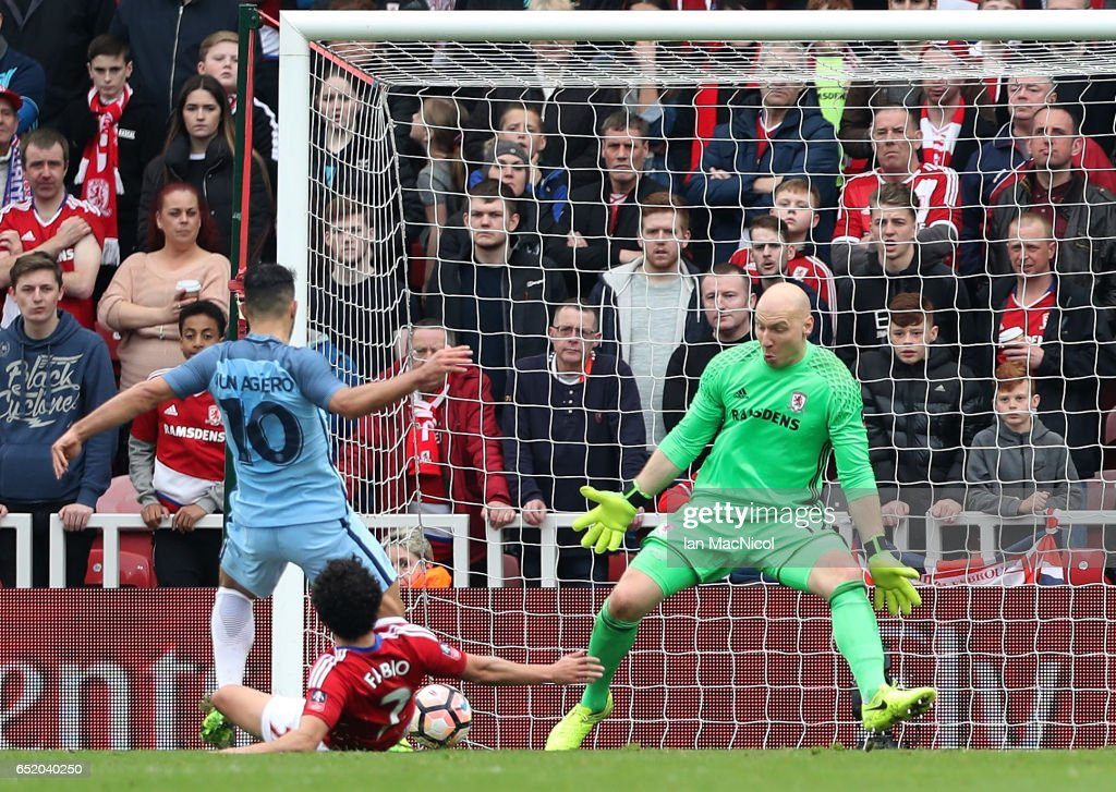 Middlesbrough v Manchester City - The Emirates FA Cup Quarter-Final : News Photo