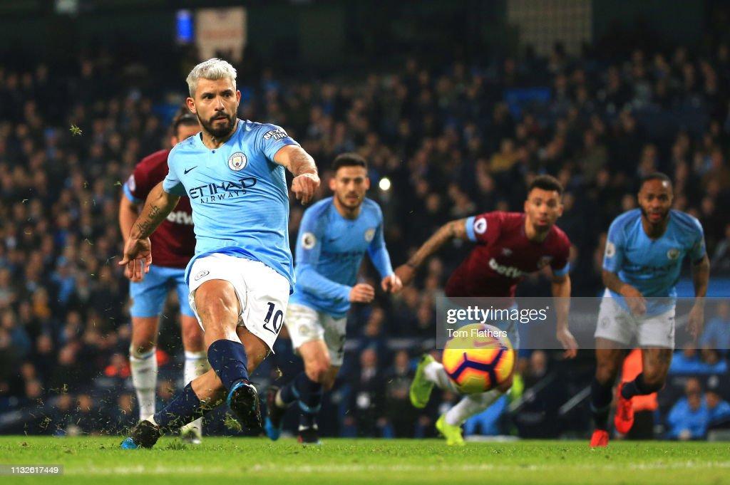 Manchester City v West Ham United - Premier League : News Photo