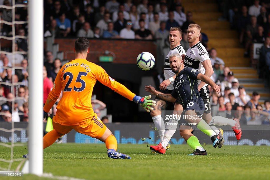 GBR: Fulham FC v Manchester City - Premier League