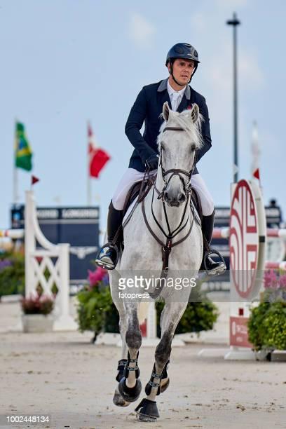 Sergio Alvarez Moya attends during CSI Casas Novas Horse Jumping Competition on July 20 2018 in A Coruna Spain