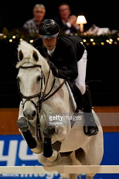 Sergio Alvarez Moya attends during CSI Casas Novas Horse Jumping Competition on December 10 2017 in A Coruna Spain